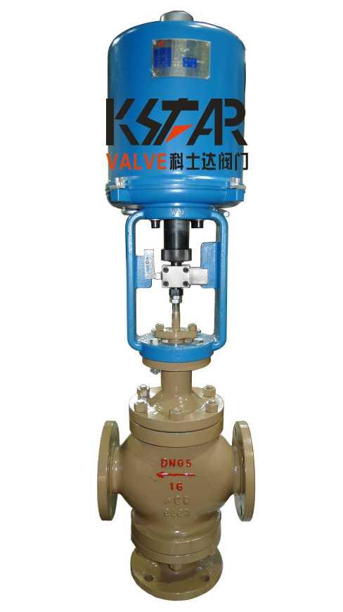 ZDLQ电子式电动三通合流调节阀